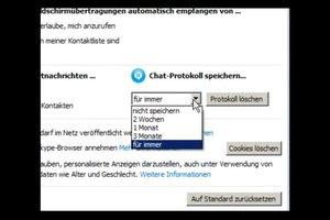 Bei Skype Nachrichten löschen - so geht's nachträglich