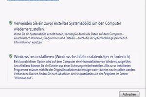 Wie setze ich meinen PC zurück? - So geht's bei Windows 7