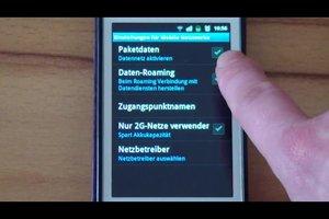 Paketdaten verwenden - so aktivieren Sie das mobile Internet