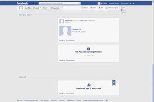 Facebook Geburtsdatum