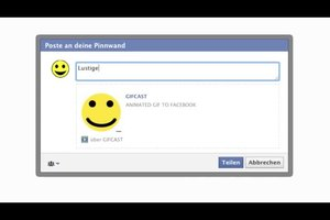 Animierte Bilder für Facebook - so verwenden Sie sie