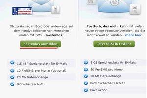 Email-Adresse erstellen bei GMX - so geht's