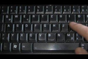 Das Sonderzeichen für Durchmesser mit der Tastatur erzeugen - so geht's