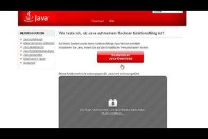 Für Java einen Browser-Test durchführen - so funktioniert's