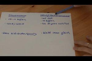 Steuernummer und Identifikationsnummer - den Unterschied einfach erklärt