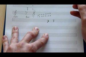 Musiknoten lesen lernen - so geht´s