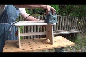 Holzlasuren entfernen - so geht's