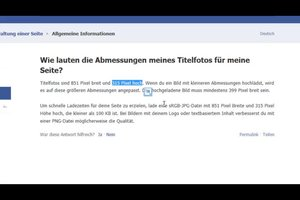 Facebook: Titelbild unscharf - so beheben Sie das Problem