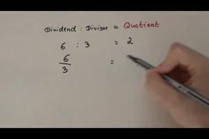 Was ist ein Quotient und wie ermittelt man ihn?