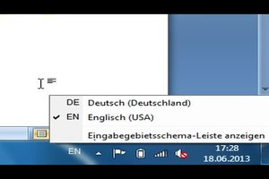 Tastatur: umstellen der Tastenkombination - so geht's von Amerikanisch auf Deutsch