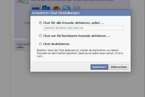 Facebook Chat-Leiste ändern - so funktioniert's