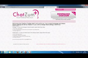 Chatzum Search löschen - so geht's