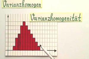 """Was ist """"varianzhomogen""""?"""