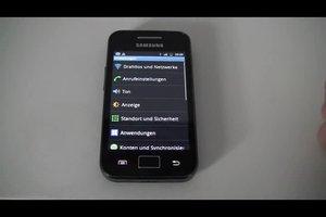 Samsung Galaxy Ace: Akku ist schnell leer - so verlängern Sie die Akkulaufzeit des Smartphones