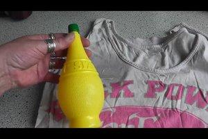 Melonenflecke entfernen - so geht's