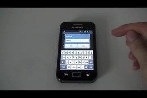 Samsung Galaxy Ace - MMS freischalten gelingt so