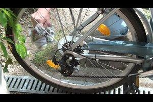 Rost entfernen am Fahrrad - so geht's