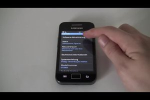 Software beim Samsung Galaxy Ace updaten - so klappt's