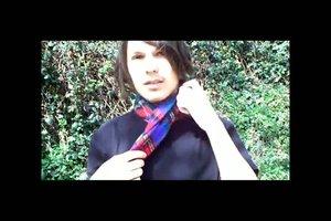Schal binden - Techniken und Anleitung