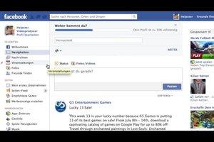 Benachrichtigungen bei Facebook löschen - so geht's
