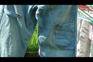 Löcher in Jeans flicken - so klappt es