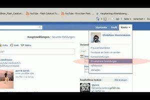 Auf Facebook die Pinnwand verbergen - so geht´s