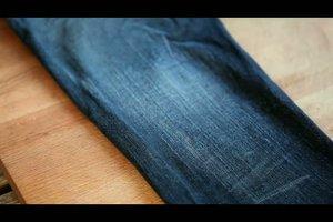 Stonewashed Jeans selber machen - so geht´s