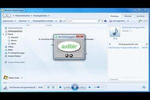 Mit dem Windows Media Player AAX-Formate abspielen