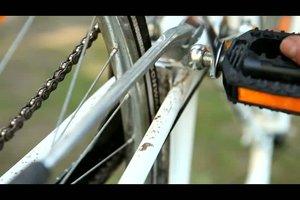 Fahrradpedale wechseln - so montieren Sie sie richtig