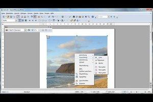 In OpenOffice Bild hinter Text einfügen - so klappt's