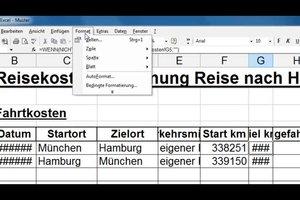 Excel: Zellen verkleinern - so geht's