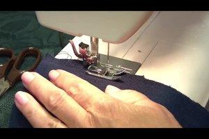 Loop-Schal nähen - Anleitung für ein Damenmodell