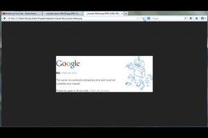 YouTube Error 502 - so beheben Sie ihn