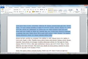Absatzvoreinstellung in Word 2010 ändern - so geht's