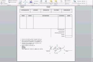 Unterschrift einscannen und in Dokumente einfügen - so gelingt's