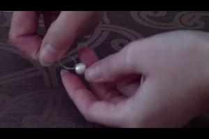 Perlen knüpfen - Anleitung für eine Kette