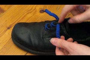 Schuhe binden ohne Schleife - coole Alternativen