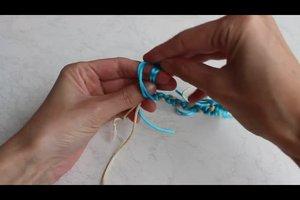 Knoten für Armband - Anleitung für einen sicheren Verschluss