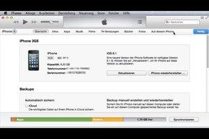 iPhone 3GS wiederherstellen - so gehen Sie vor