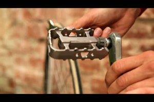 Fahrradpedale abmontieren - so geht´s