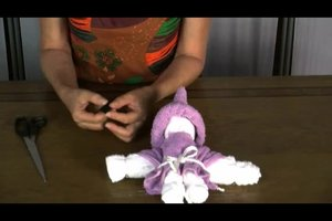 Anleitung für Handtuchpuppen - so gelingt die selbst gemachte Puppe