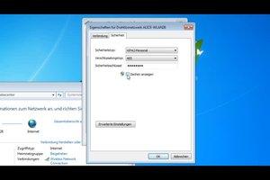 WLAN-Passwort anzeigen lassen - so geht's in Windows 7