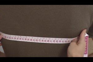 Die Achselweite messen - so funktioniert's