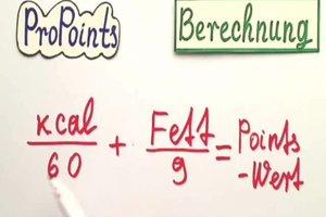 ProPoints berechnen - so geht's