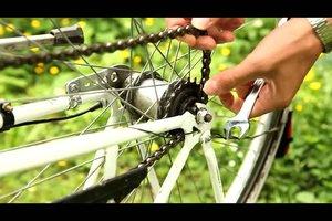 Abgesprungene Fahrradkette - so funktioniert die Reparatur