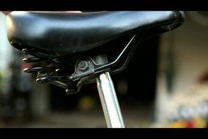Bequemer Fahrradsattel - so montieren Sie ihn