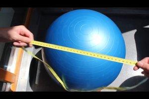 Gymnastikball - welche Größe für wen geeignet ist