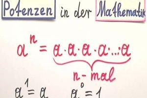 Hoch minus 1 - eine Erklärung aus der Mathematik