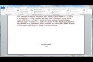 Word 2010: Fußnote formatieren - so passen Sie das Format an