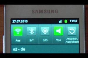 Beim Samsung Galaxy Ace S5830 das Internet ausschalten - so geht's